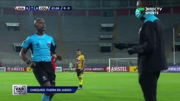 Sport Huancayo 0-1 Coquimbo Unido: así fue el primer gol del cuadro chileno