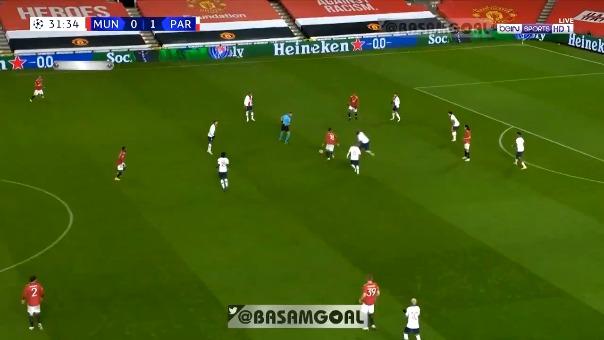 Así fue el gol de Marcus Rashford con el Manchester United al PSG.