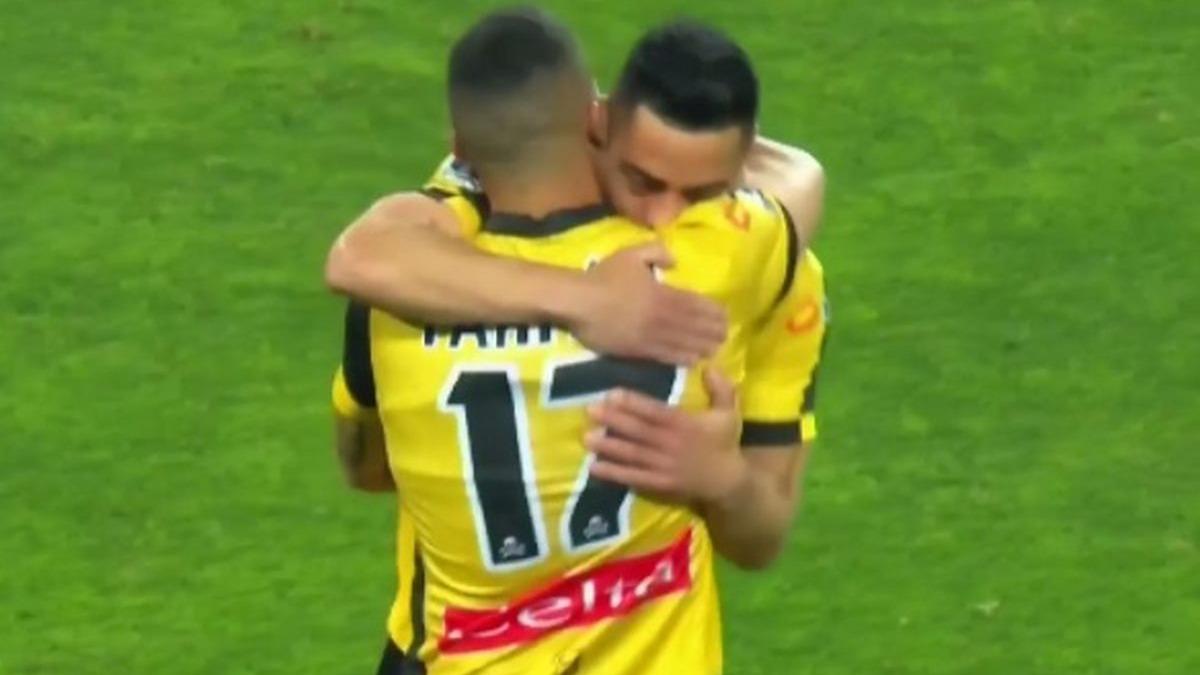 Así fue el gol de Diego Vallejos ante Huancayo con Coquimbo Unido.