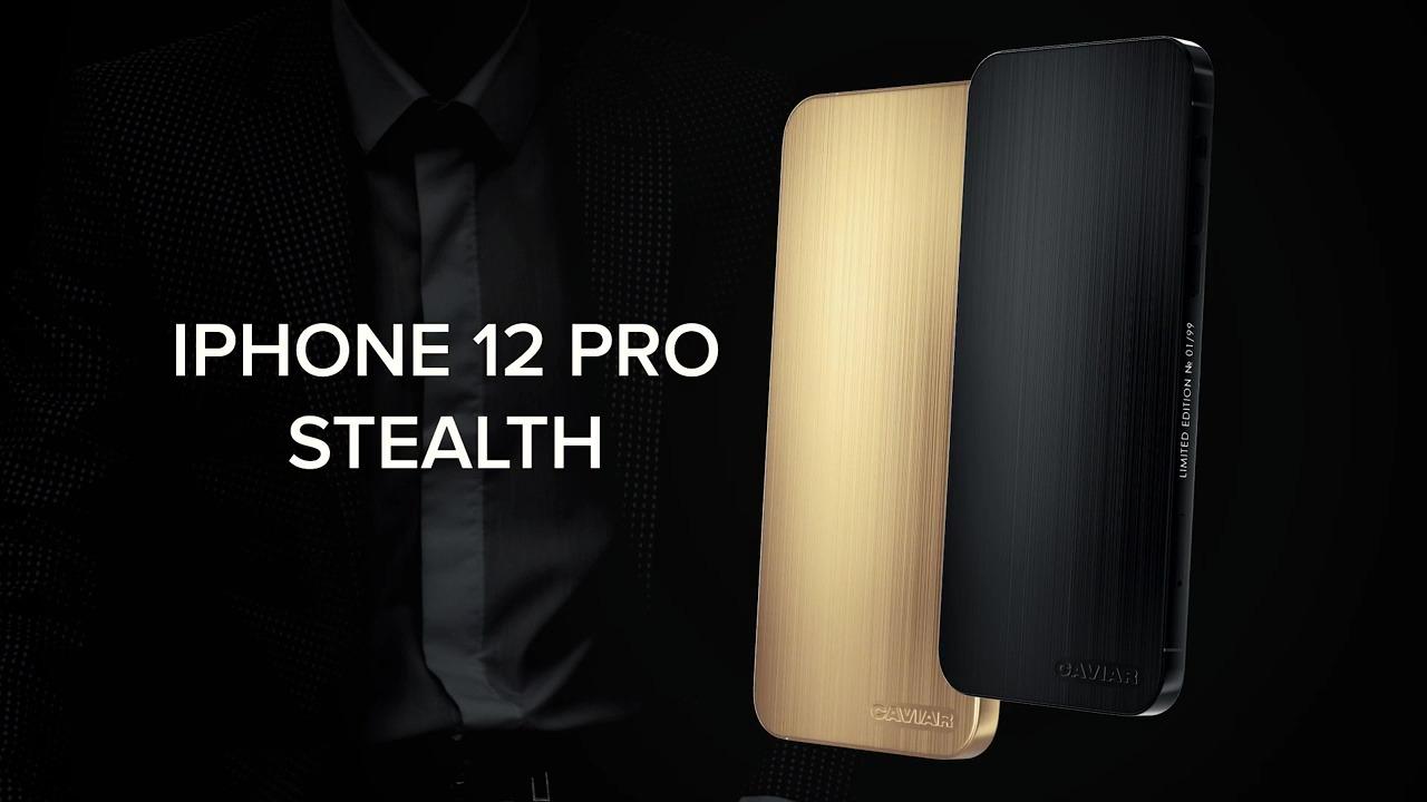 Video promocional del Caviar iPhone 12 Pro Stealth.