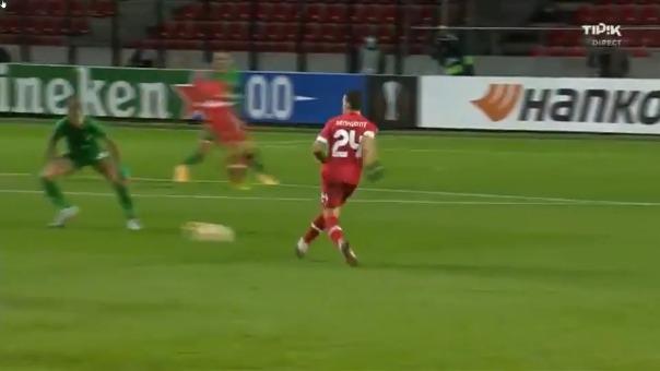 Asistencia de Cristian Benavente para el 1-0 de Royal Antwerp