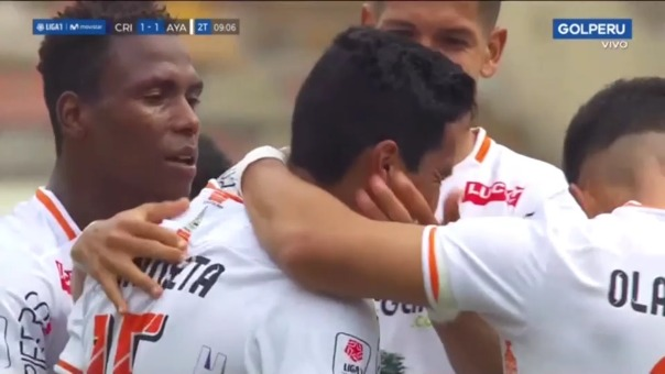 Sporting Cristal 1-1 Ayacucho FC: así fue el gol de Jesús Mendieta
