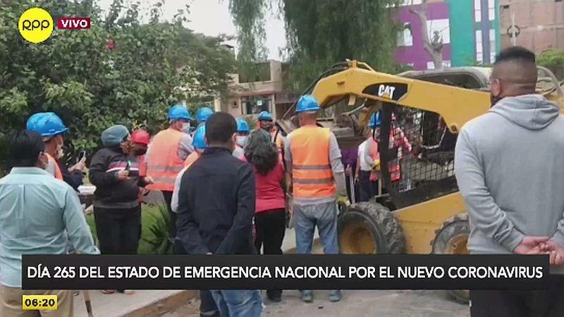 Los vecinos pidieron un pronunciamiento del alcalde Julio Chávez.