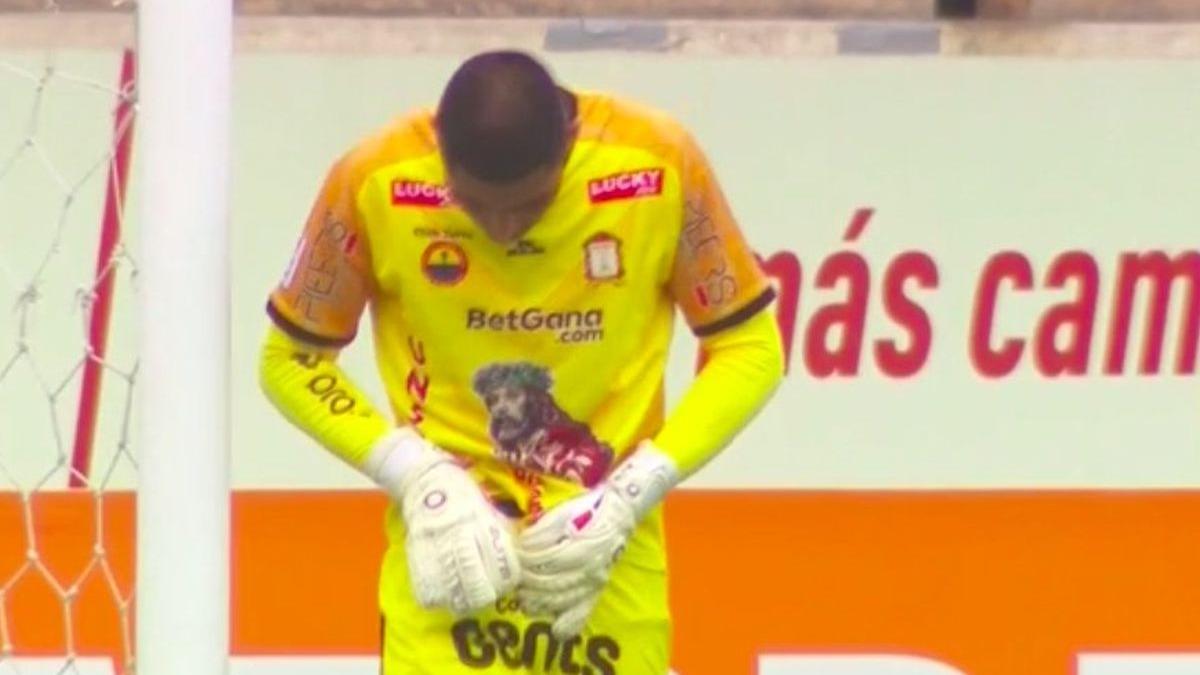 Así fue el momento de Zamudio entre Sporting Cristal vs. Ayacucho.