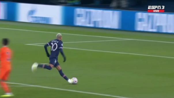 Así fue el segundo gol de Neymar