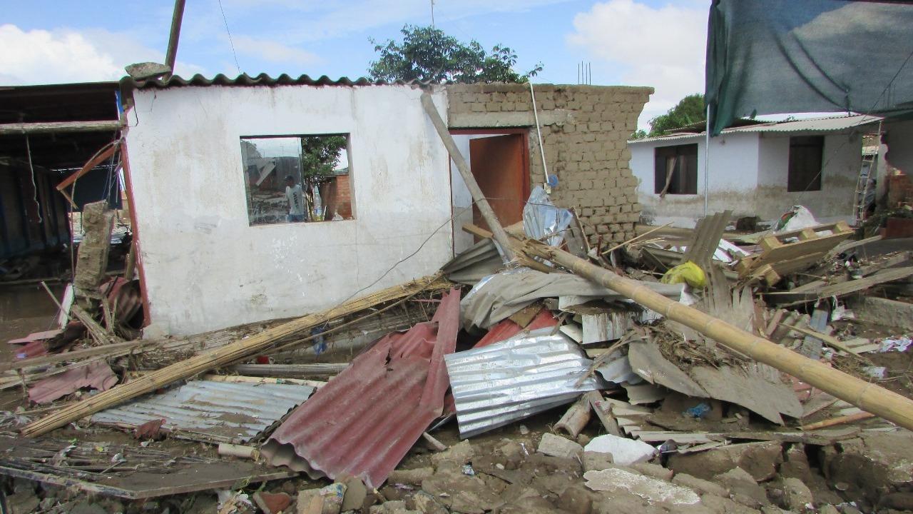 En el 2017, el Fenómeno El Niño arrasó con decenas de viviendas en diversos sectores de Trujillo.