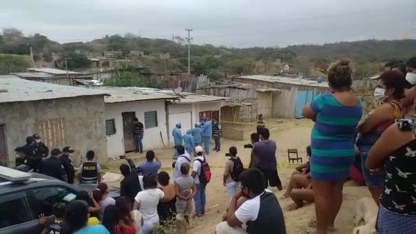 Vecinos de las víctimas indicaron que escucharon una discusión la noche del martes.