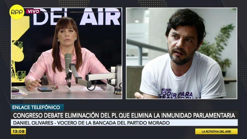 Daniel Olivares estuvo esta tarde en La Rotativa del Aire.