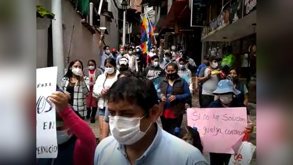 El dirigente Óscar Valencia Aucca dijo en RPP que los pobladores no tienen forma de llegar a la reunión en la ciudad de Cusco.