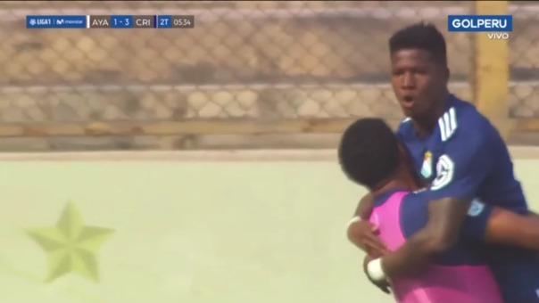 Sporting Cristal 3-1 Ayacucho FC: así fue el gol de Corozo