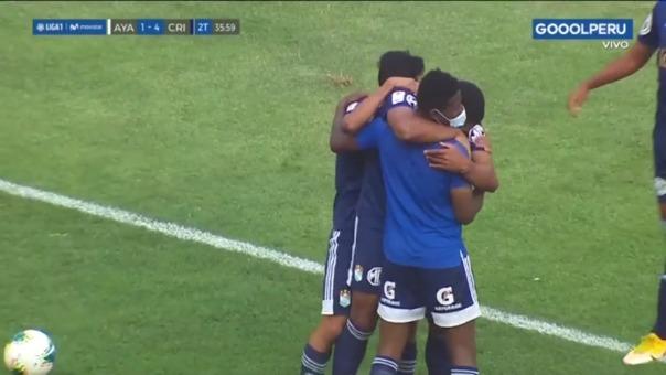 Sporting Cristal 4-1 Ayacucho FC: así fue el gol de Liza