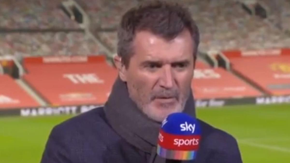 El lapidario comentario de Roy Keane para los jugadores en el derbi de Manchester.
