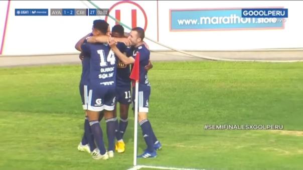 Sporting Cristal 2-1 Ayacucho FC: así fue el gol de Emanuel Herrera