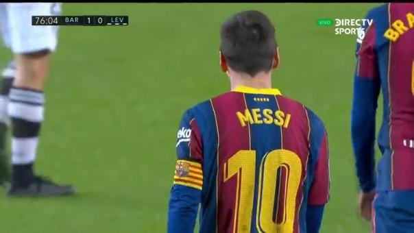 Así fue el gol de Lionel Messi