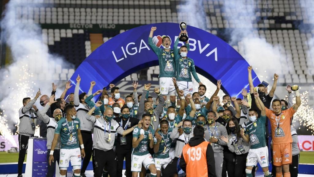 Así fue la celebración del León tras obtener el título de Guard1anes 2020 por la Liga MX