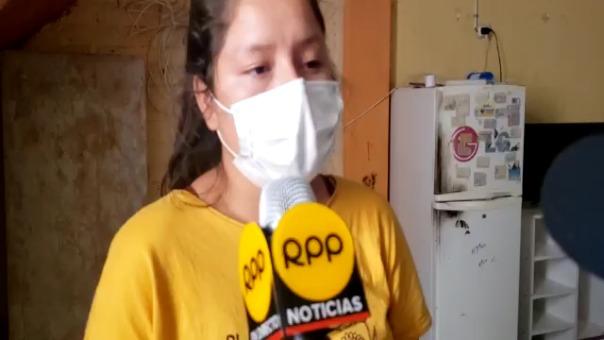 Hija de mujer agredida pide ayuda a las autoridades por temor que su padre vuelva a golpear a su mamá y hermanos menores.