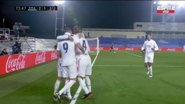 Así fue el primer gol de Karim Benzema