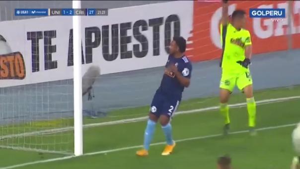 Universitario 1-2 Sporting Cristal: así fue el gol de Alberto Quintero