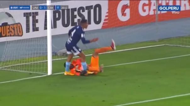 Universitario 0-1 Sporting Cristal: así fue el gol de Gianfranco Chávez