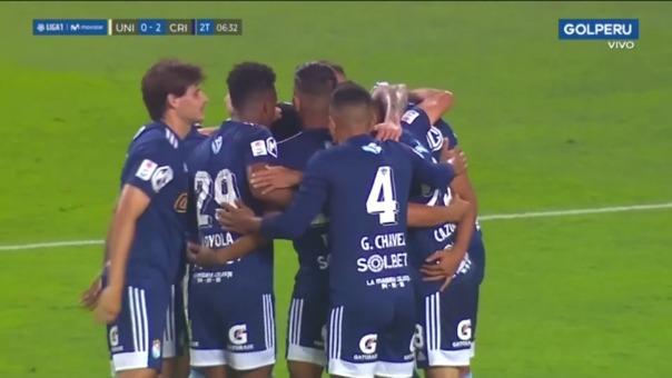 Universitario 0-2 Sporting Cristal: así fue el gol de Jorge Cazulo