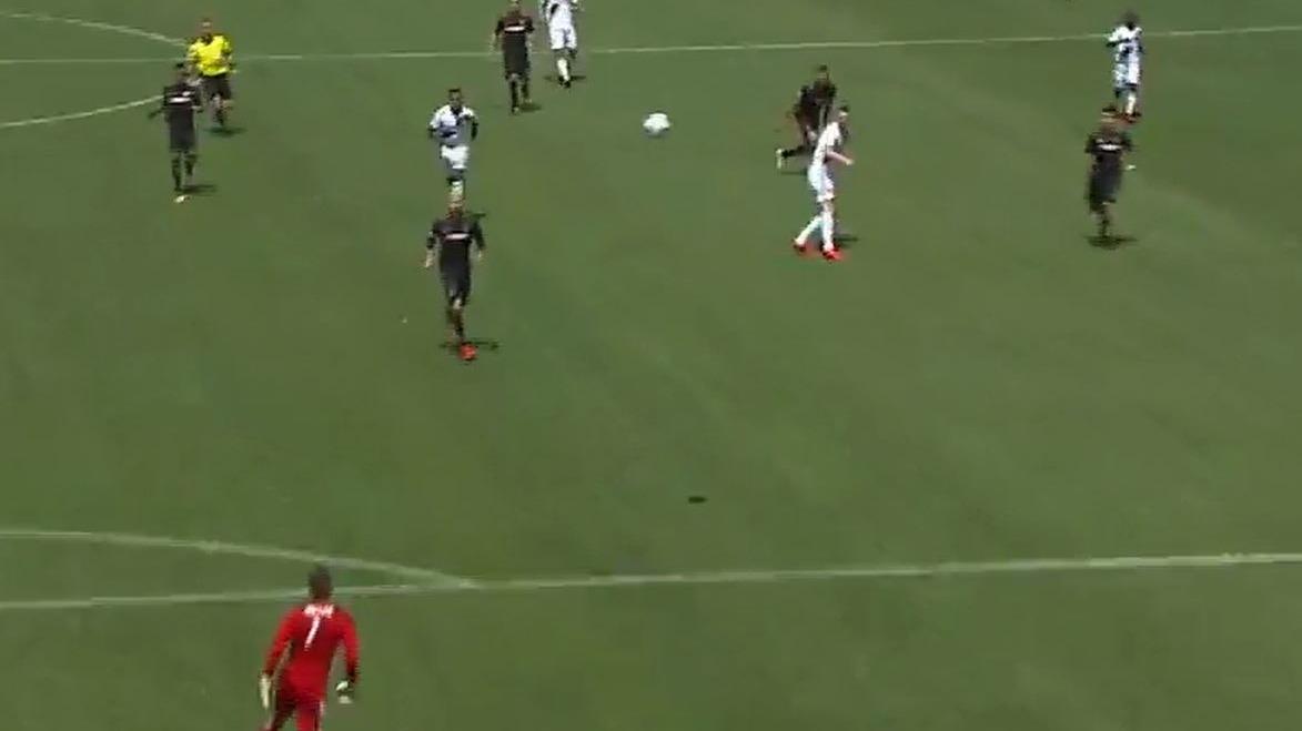 Este fue el golazo de Zlatan a Los Angeles FC.
