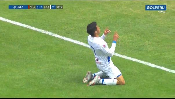 Gol de Christian Vargas.
