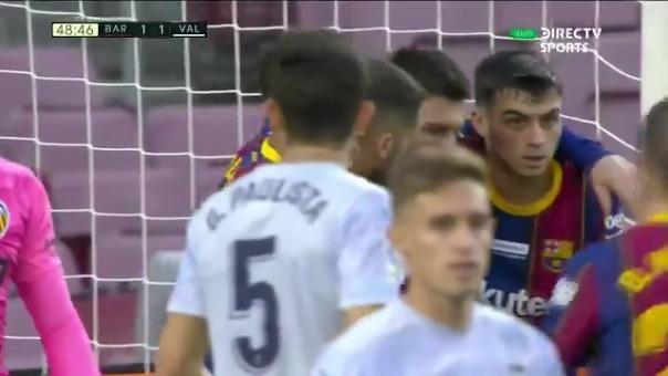 Lionel Messi anotó el empate 1-1 de Barcelona ante Valencia