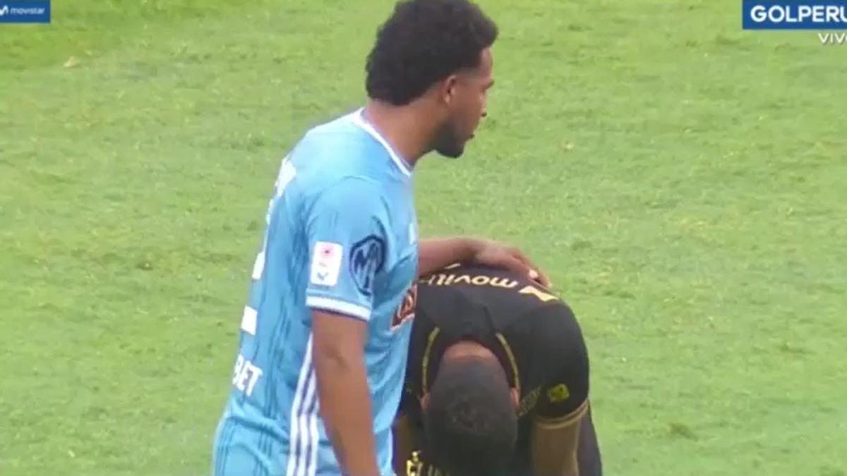 Jesús Barco no aguantó las lagrimas tras el Universitario vs. Sporting Cristal.