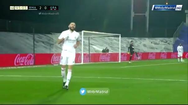 Gol de Karim Benzema