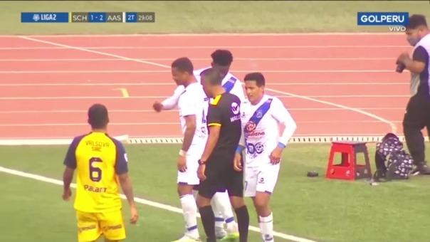 Alianza Atlético2-1 Sport Chavelines: así fue el gol de Kevin Lugo