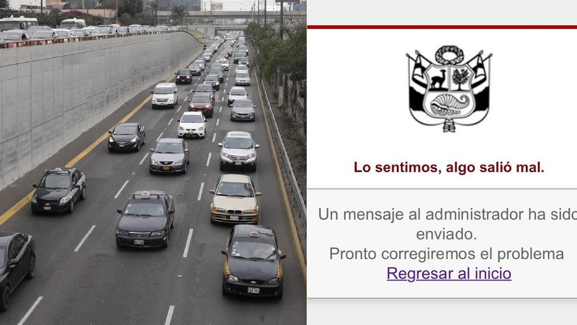 Gobierno restringe circulación vehicular privada los días 24, 25 y 31 de diciembre y el 1 de enero