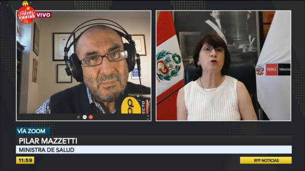 Entrevista a Pilar Mazzetti, ministra de Salud.