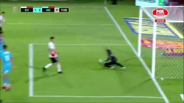 River Plate vs. Arsenal: así fue el gol de  Ignacio Fernández