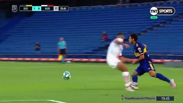Boca Juniors 1-0 Huracán: así fue el gol de Wanchope Ábila