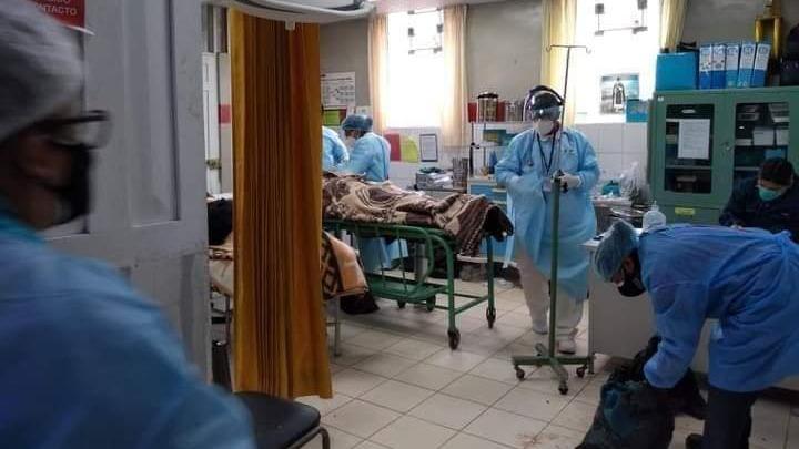 Los heridos fueron llevados hasta el hospital Lucio Aldazabal Pauca de la provincia de Huancané.