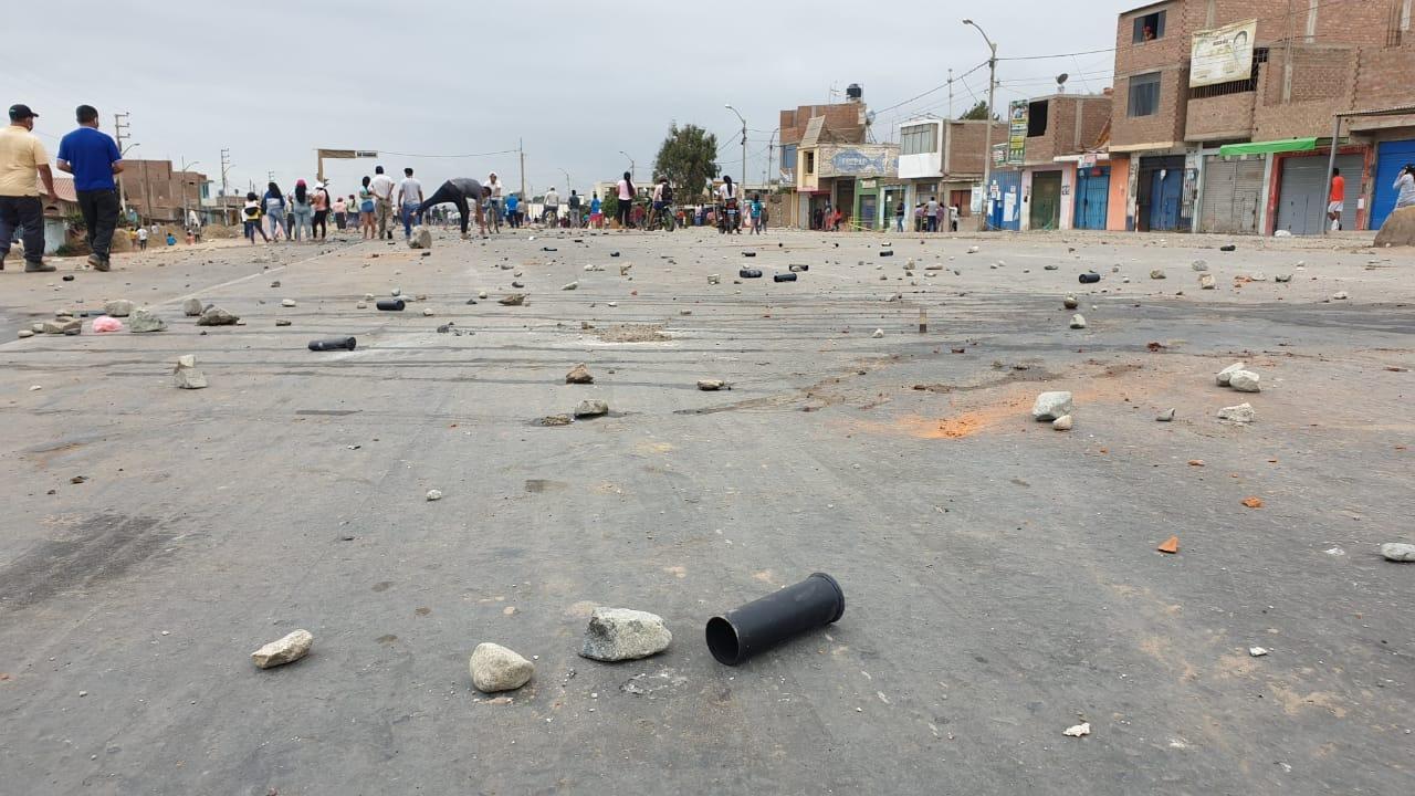 En el centro poblado de San José se produjo otro enfrentamiento.