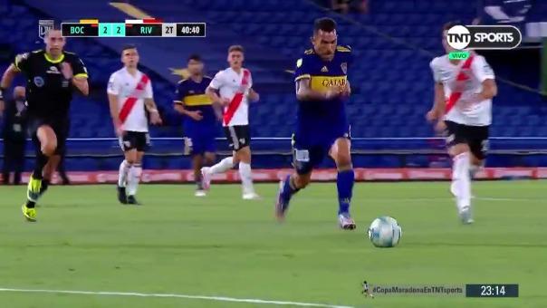 Boca Juniors 2-2 River Plate: así fue el gol de Carlos Tevez