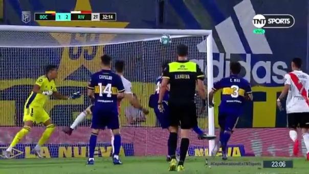 Boca Juniors vs. River Plate: así fue el gol de Santos Borré