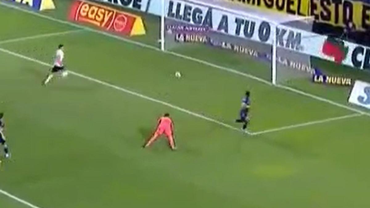 Así fue el 2-2 de Villa en el Boca vs. River.