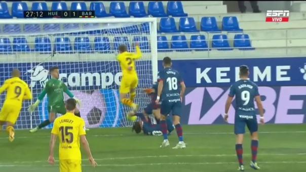 Huesca 0-1 Barcelona: así fue el gol de De Jong