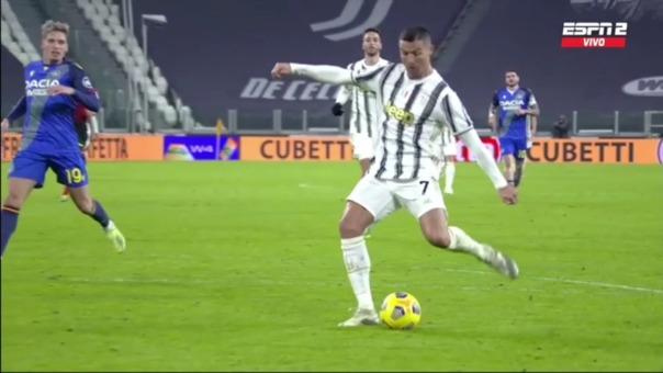 El gol 758 de Cristiano Ronaldo