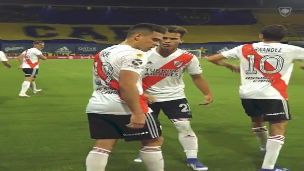 La esperanza de gol de River Plate se llama Rafael Borré