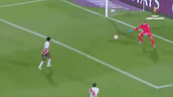 Palmeiras ganó 3-0 a River Plate por la Copa Libertadores