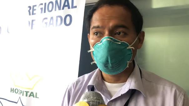 El director del hospital Honorio Delgado, Richard Hernández, pidió a las personas que no se automediquen.