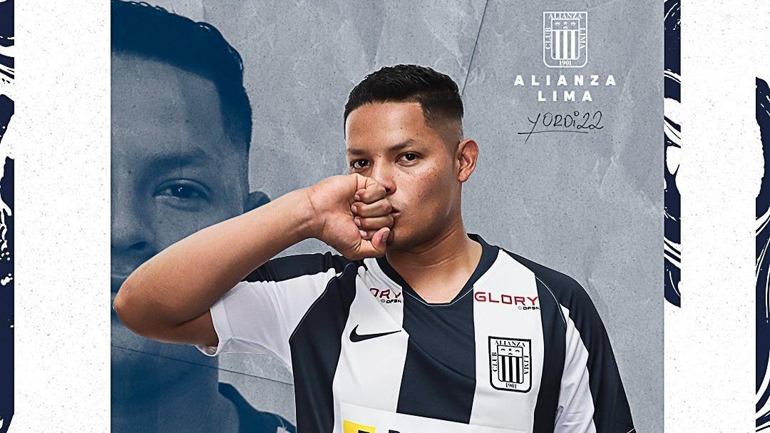 Yordi Vílchez firmó por Alianza Lima hasta el 2022