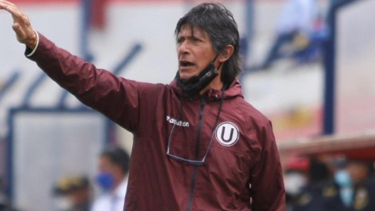 Así fue la llegada de Ángel Comizzo a Lima.