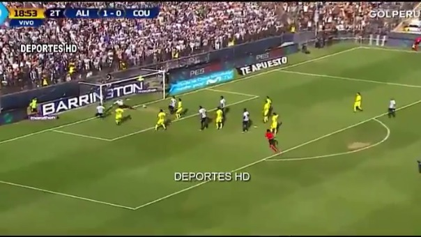 Así fueron los dos goles de Gabriel Leyes con Alianza Lima