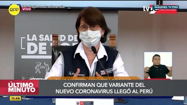 Minsa confirmó presencia de la nueva 'variante británica' del coronavirus en el Perú.