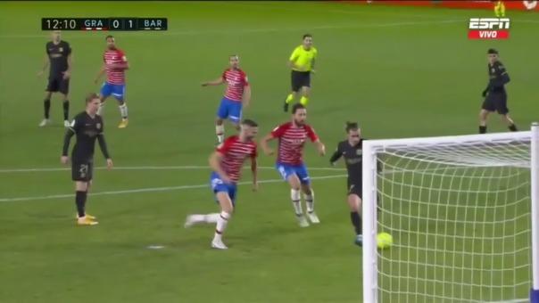 Granada vs. Barcelona: así fue el 0-1 de Antoine Griezmann