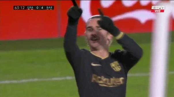 Granada vs. Barcelona: así fue el 0-4 de Antoine Griezmann